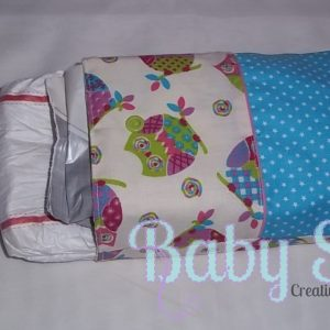 Diapers and wipes bag