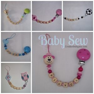 Pacifier Clamps